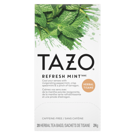 Tazo Refresh Mint 20ct