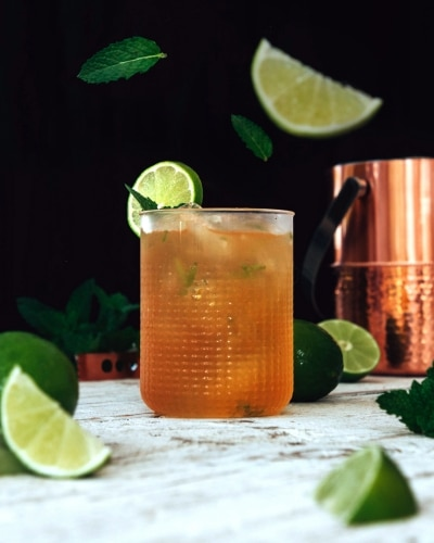Mint Mojito Styled Iced Tea