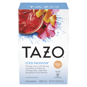 TAZO Iced Tea Herbal Passion 6 PC