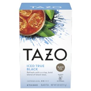 TAZO Iced Tea True Black 6 PC