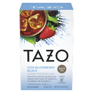 TAZO tea Blushberry 6 PC