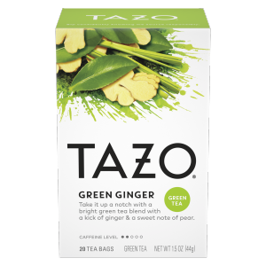 Tazo Green Ginger Tea Bags Green Tea 20ct