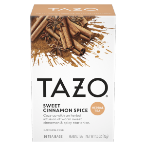 Tazo Tea Bag Cinnamon Spice 20 CT