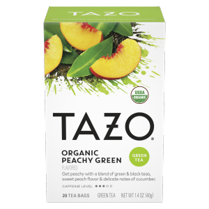 Tazo Tea Bag Organic Peachy Green 20 CT