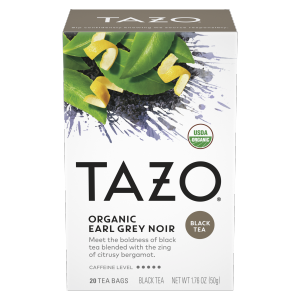 Tazo Organic Earl Grey Noir Tea Bag 20 CT