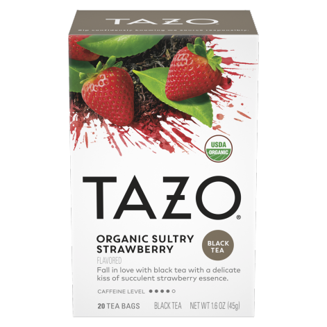 TAZO Organic Sultry Strawberry 20CT