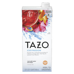 TAZO tea Passion 32 OZ