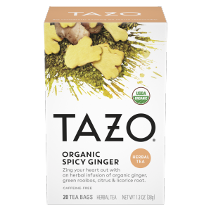 Tazo Tea Bag Organic Spicy Ginger 20 CT