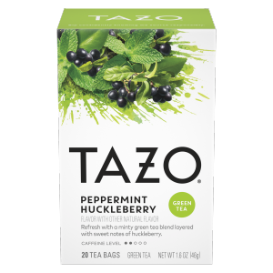 Tazo Peppermint Huckleberry Tea Bags 20 ct