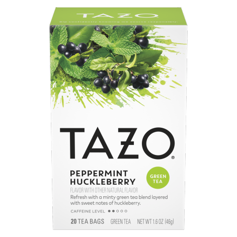 TAZO Peppermint Huckleberry 20CT