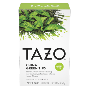 Tazo Tea Bag China Green Tips 20 CT