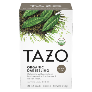 Tazo Tea Bag Organic Darjeeling 20 CT