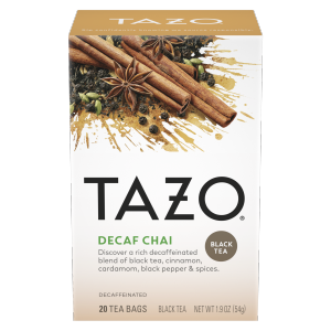 Tazo Tea Bag DECAF Chai 20 CT