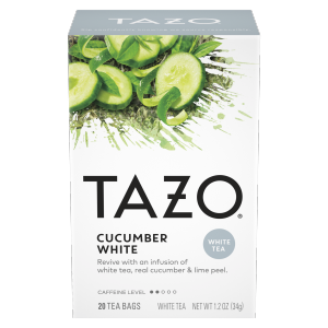 Tazo Tea Bag Cucumber White 20 CT