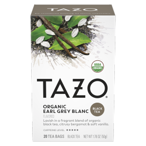 TAZO tea Earl Grey Blanc 20 PC