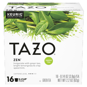 Tazo Tea CUP Zen Green Tea 16 PC