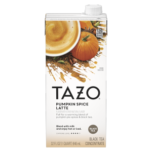 TAZO tea Pumpkin Spice 32 OZ