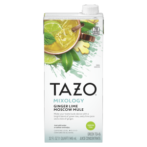 Tazo Ginger Lime Moscow Mule Concentrate 32 oz
