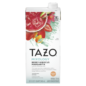 Tazo Berry Hibiscus Margarita Concentrate 32oz