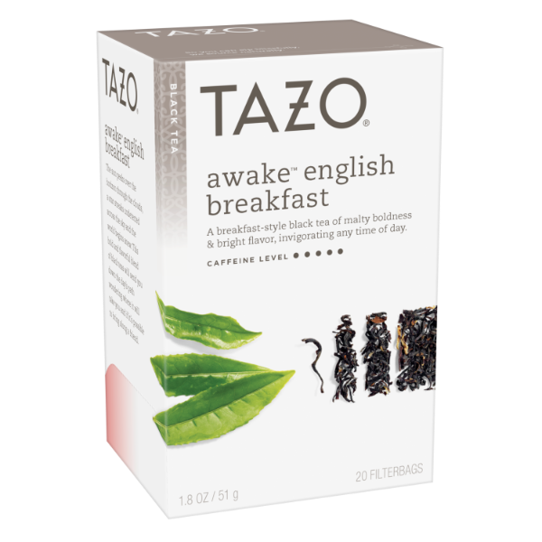 Tazo Tea Bag Awake English Breakfast 20 1N