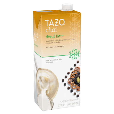 TAZO Chai Decaf Latte 32OZ