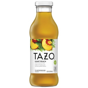 Tazo Giant Peach Tea RTD 13.8oz