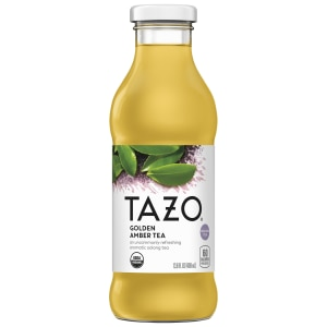 Tazo Organic Golden Amber Tea RTD 13.8oz