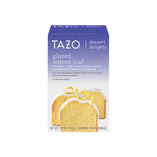 Tazo TB DECAF Glazed Lemon 6 15ct
