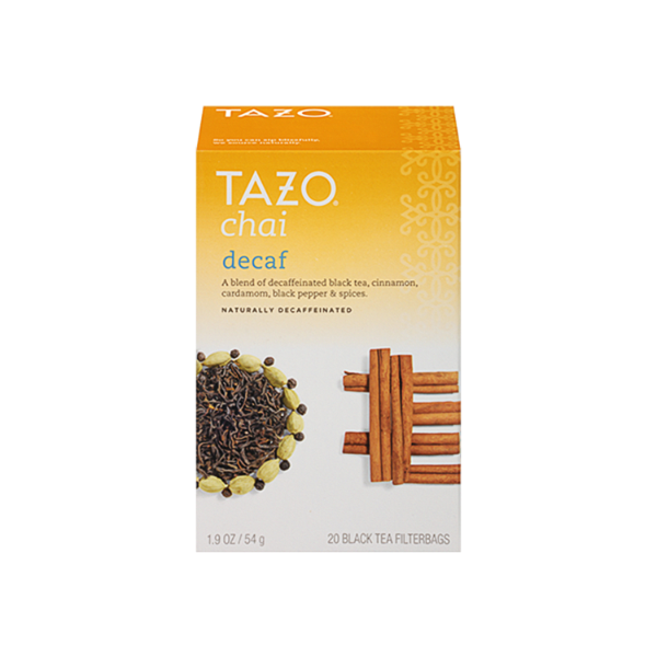 Tazo TB DECAF Chai 6 20ct