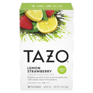 Tazo Lemon Strawberry Tea Bags 20 ct