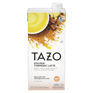 Tazo Tea Concentrate Golden Turmeric Latte 32 oz