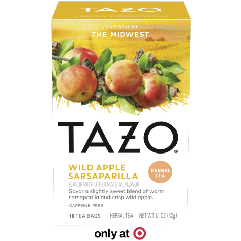 TAZO Wild Apple Sarsaparilla 16CT