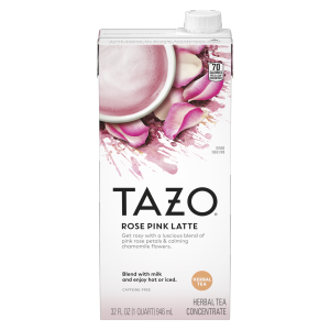 Tazo tea CONC Rose Latte 32 OZ