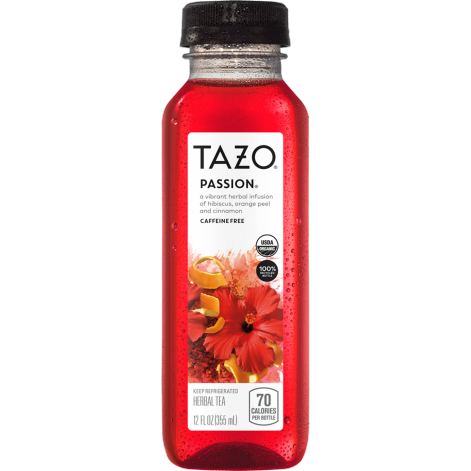 TAZO Organic PASSION® Herbal Tea 12oz